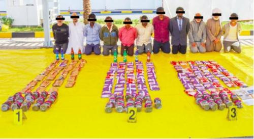 Attempt to smuggle drugs from Iran foiled; 11 nabbed