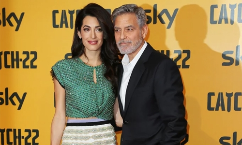 George, Amal Clooney 'have dinners' often with 'good friends' Harry and Meghan