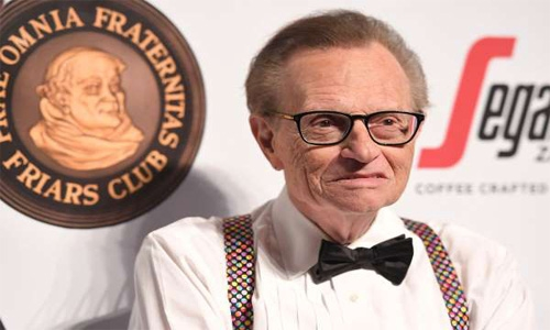 Talk show legend Larry King hospitalised with Covid-19