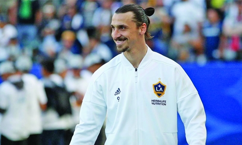 The celebrity that Zlatan Ibrahimovic wants to meet most is himself