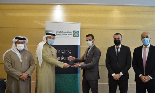 KFH Bahrain receives STP Award from JP Morgan