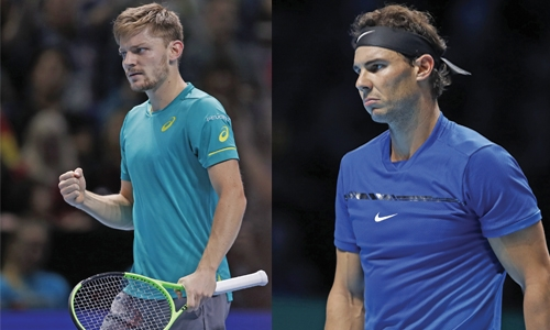 Grigor Dimitrov beats David Goffin at ATP Finals