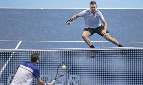 Jack Sock boosts ATP Finals hopes