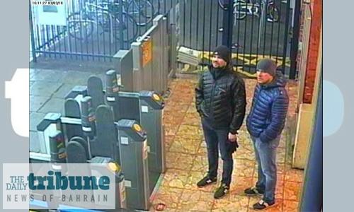 Britain's Johnson warns Putin over Skripal poisoning