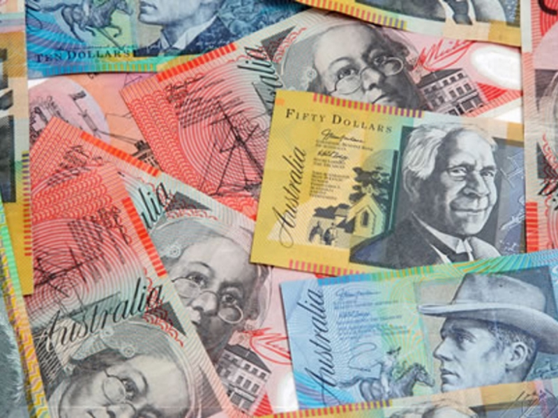 The Australian dollar sinks to its lowest rate in 17 years