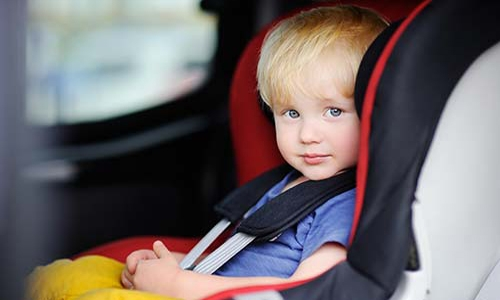 '92% of children who suffered injuries in accidents in Bahrain were not wearing seat belts'