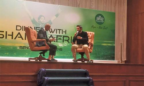 Afridi raises BHD36,000 from Bahrain