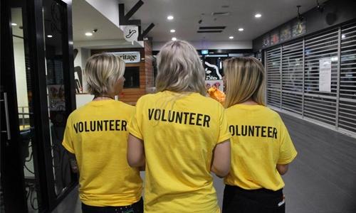 Celebrating volunteership