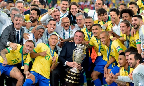 Brazil end Copa drought
