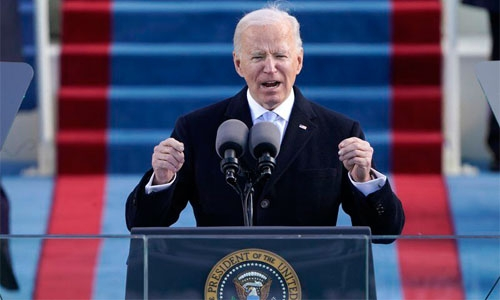 Biden takes the helm as US President: 'Democracy has prevailed'