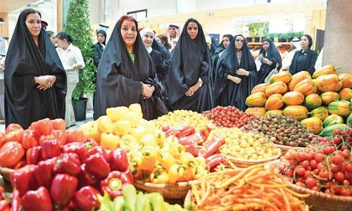 Princess Sabeeka inaugurates Hoorat A'ali farmers' market