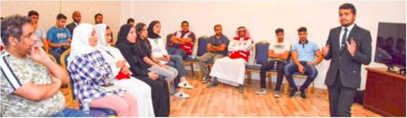'BRCS training new group of volunteers for relief work'