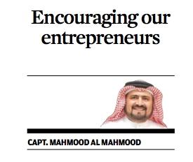 Encouraging our entrepreneurs