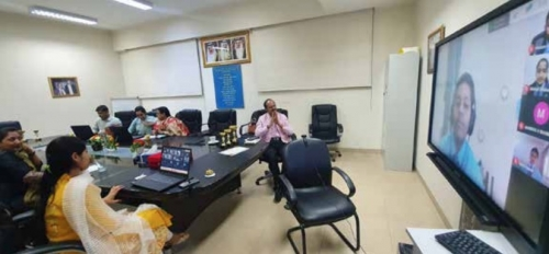 NMS-DPS hosts online Inter-school 'Hindi Diwas' competitions