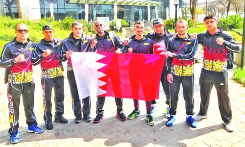 BOC congratulates MMA team