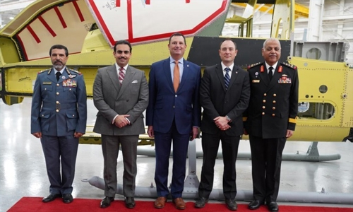 Bahrain Ambassador in Washington meets US officials