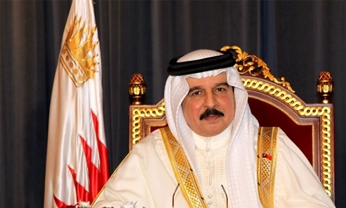 HM King congratulated on winning global honours