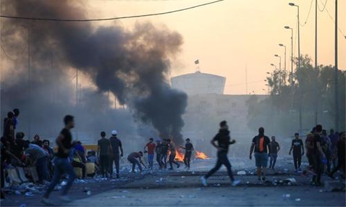 Baghdad boils