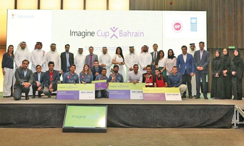 Team Inflex wins first place at Imagine Cup
