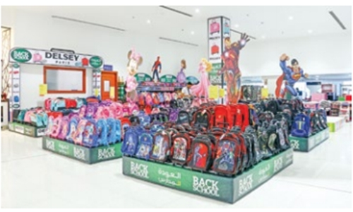 LuLu presents 50 popular 'Back to School' character accessories