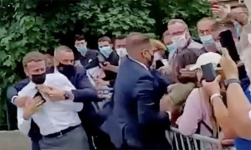 Man Arrested Over Slapping French President Martial Arts Enthusiast