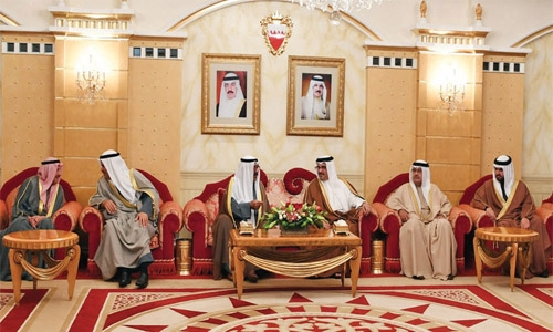 Crown Prince urges to boost  regional security