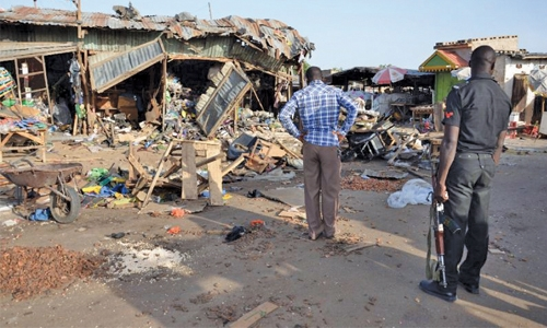 Suicide blasts kill 19 in northeast Nigeria