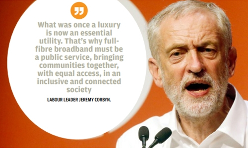Britain's Labour party promises free broadband for all