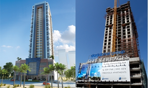 Seef Terraces ahead of schedule
