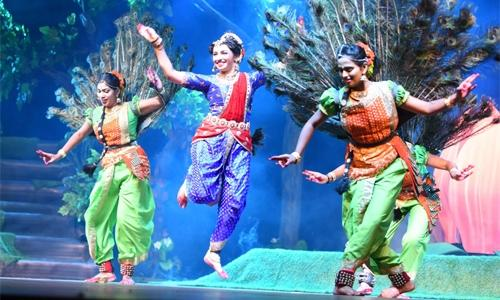 Bahrain based dance drama plays at Indian art festival