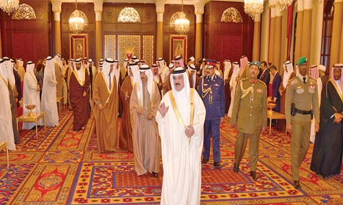 NAC is Bahrain's  guiding force: HM