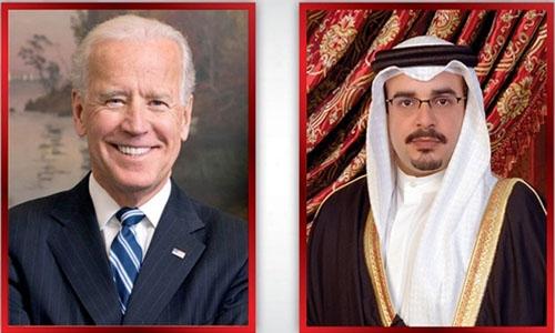 HRH Crown Prince and Prime Minister congratulates US President Joe Biden on inauguration