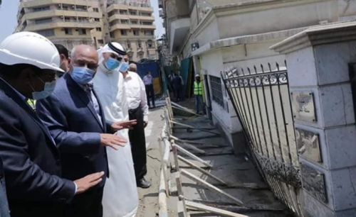 Embassy in Cairo continues duties despite local excavation disruption