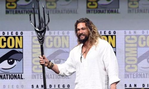 Mamoa unveils 'Aquaman' trailer