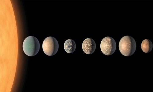 TRAPPIST-1 planets may harbour abundant water