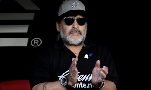 Maradona appointed coach of Argentine Superliga side