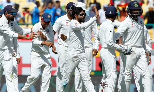 India thrash Australia to clinch Test series