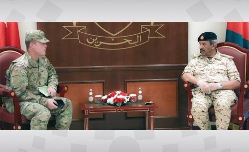 BDF chief receives outgoing US Military attaché