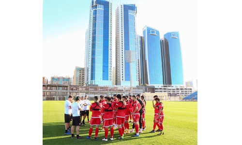 Bahrain national football team kick off training camp