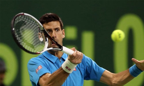 Djokovic survives scare in Doha season opener