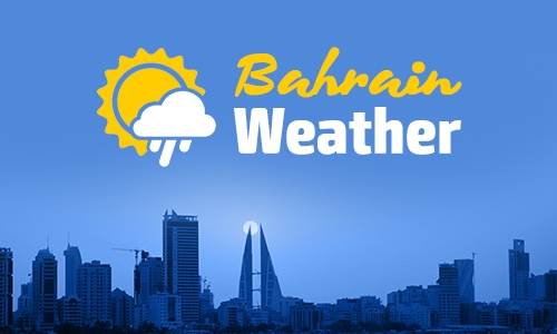 Hot, humid weather in Bahrain