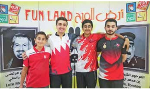 Mahmoud shines in Godfathers Tournament qualifying at Funland