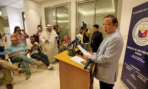 Kuwait asks Philippines  ambassador to leave