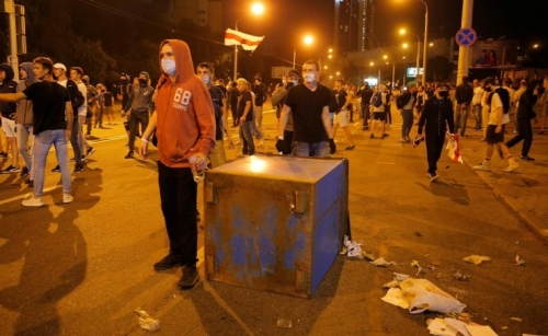 At least one killed, dozens injured in Belarus clashes after election