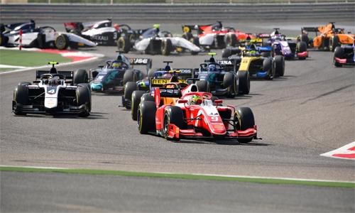 F2 set for thrilling battles in Bahrain