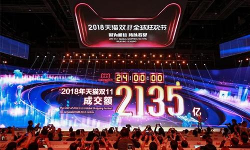 Alibaba hits another 'Singles Day' record