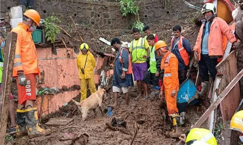 24 killed, several injured in Mumbai as houses collapse during heavy rain