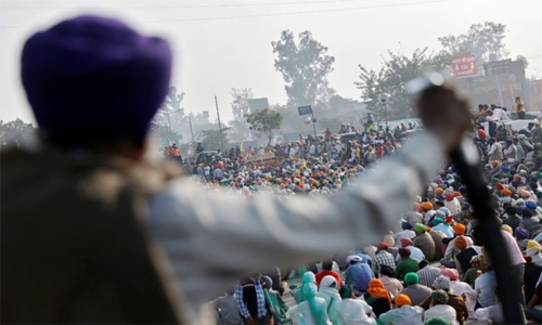 Indian government invites protesting farmers for talks today
