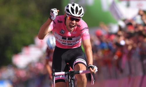 I'm going to the  Giro to win again