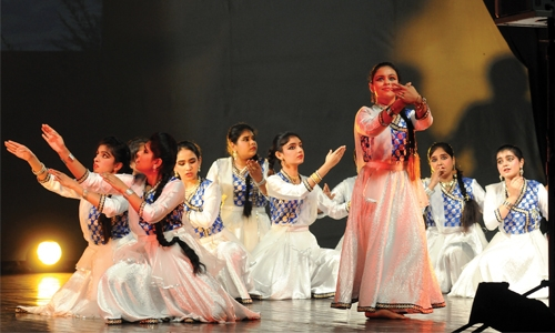 Celebration of Indian dance in Bahrain